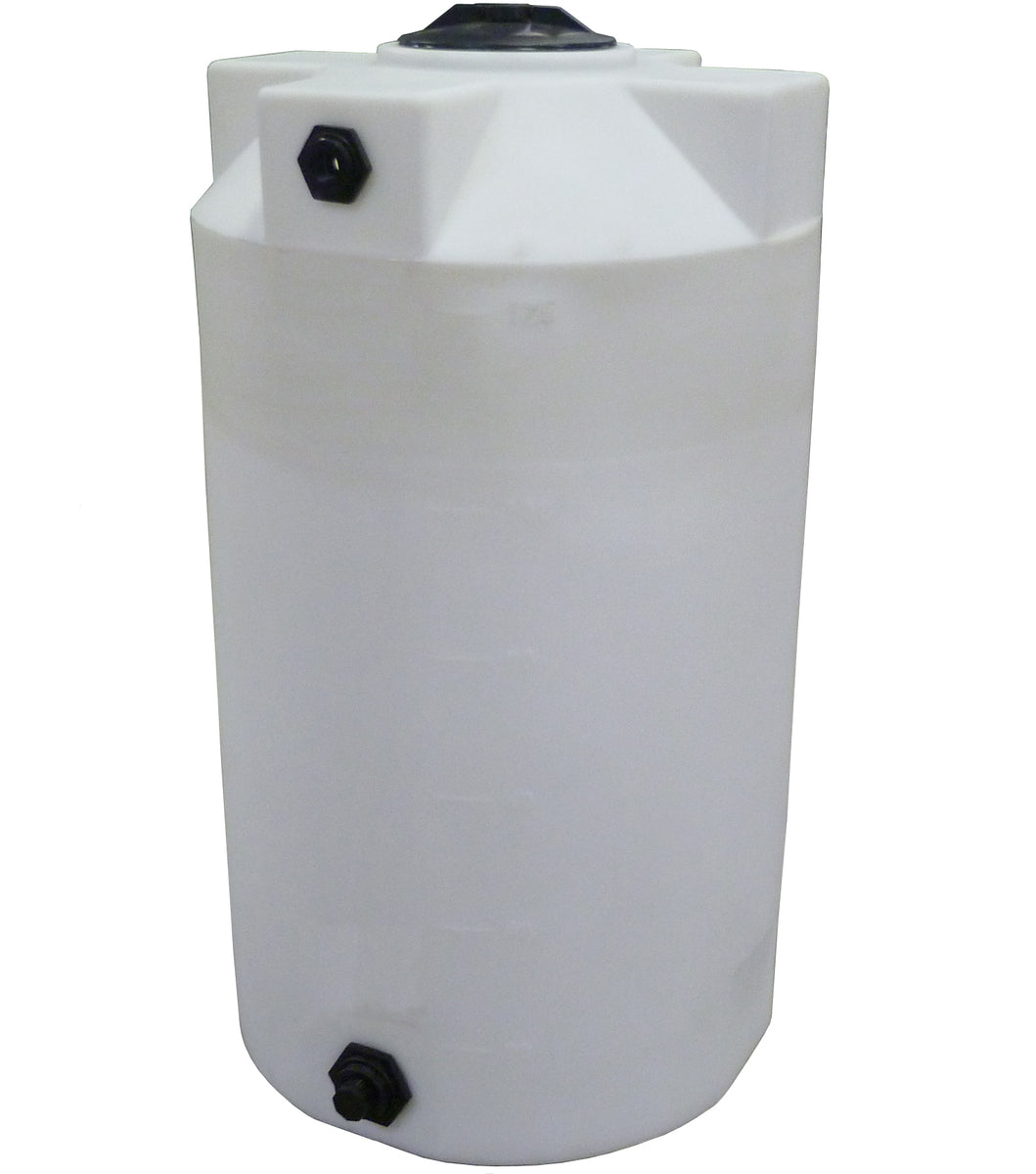 125 Gallon Heavy Weight Plastic Storage Container Water