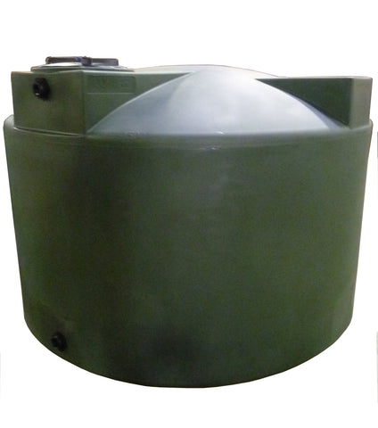 1500 Gallon Water Storage Container | Dark Green | Water Container Store