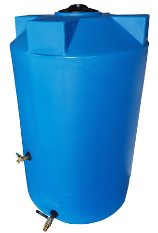 200 Gallon Heavy Weight Emergency Water Storage Container | Light Blue | Water Container Store