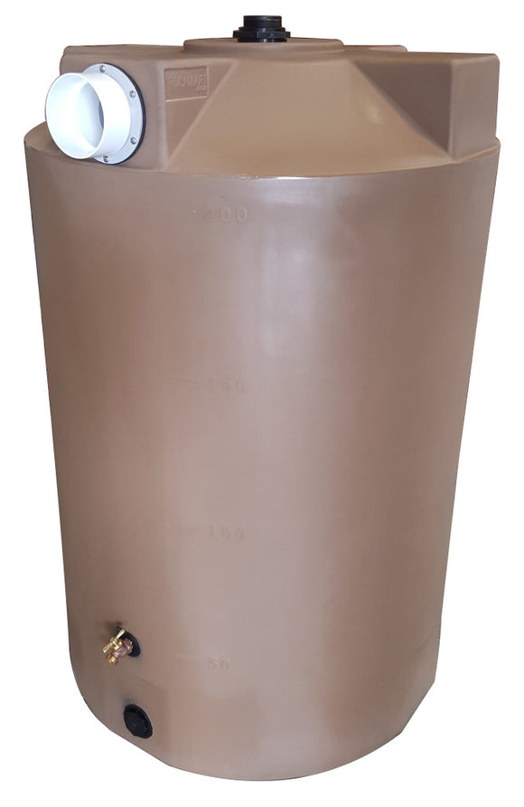 200 Gallon First Flush Container - Water Container Store