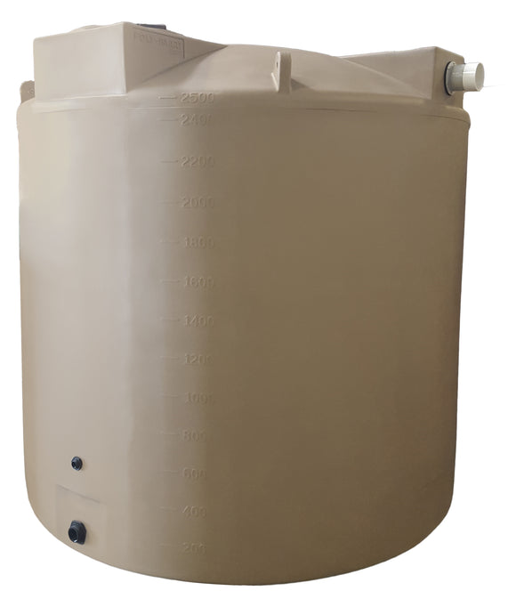 2500 Gallon SunShield Rainwater Storage Container - Water Container Store