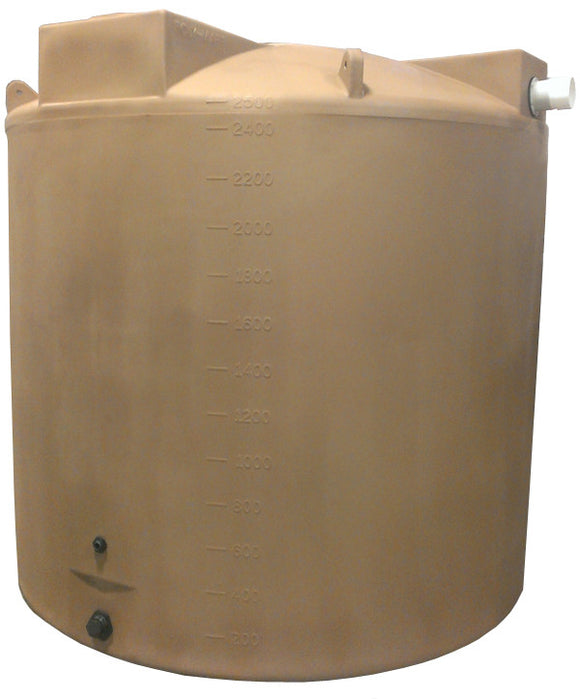 2500 Gallon Rainwater Storage Container - Water Container Store