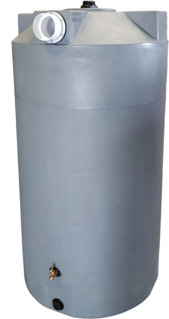 250 Gallon First Flush Container - Water Container Store