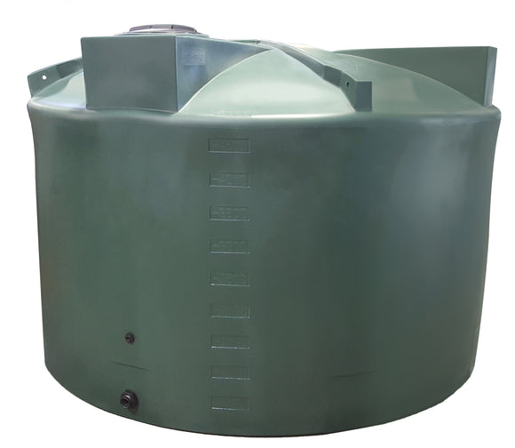 Short 5000 Gallon Rainwater Storage Container - Water Container Store