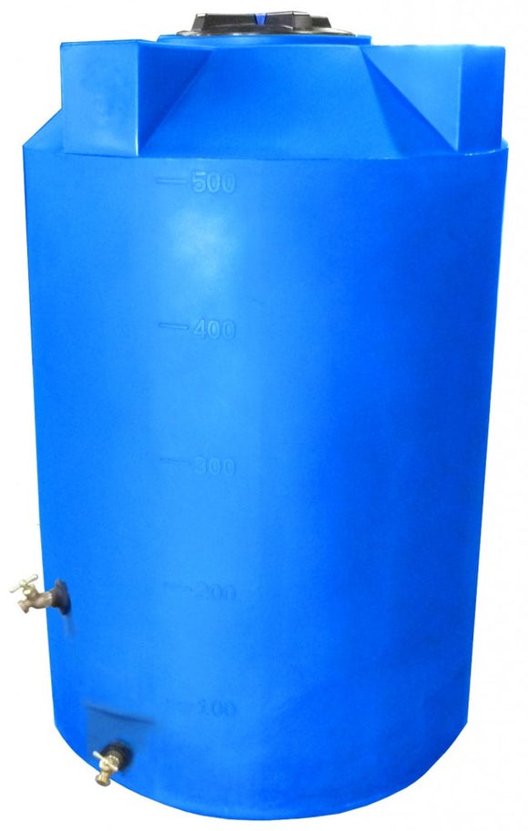 500 Gallon Heavy Weight SunShield Emergency Water Storage Container - Water Container Store