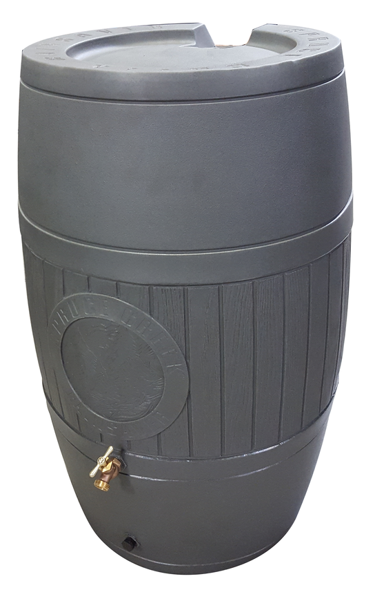 RainSaver 54 Gallon Rain Barrel - Moss Green - Water Container Store