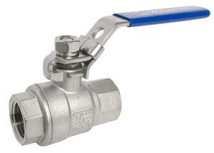 "1.25"" Stainless Steel Ball Valve - Water Container Store"