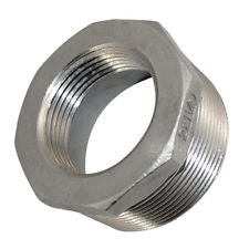 "1.25"" to 1"" Stainless Steel Reducer Bushing - Water Container Store"