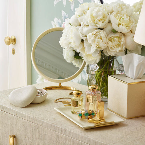 Shagreen Heart Box Dove aerin