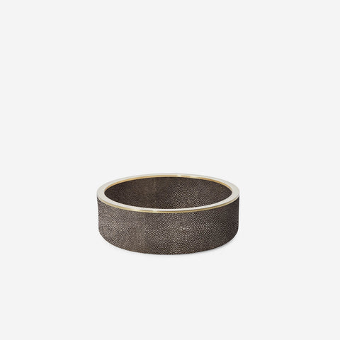 Shagreen Wine Coaster - Chocolate