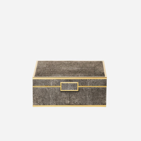 Classic Shagreen Medium Box Chocolate