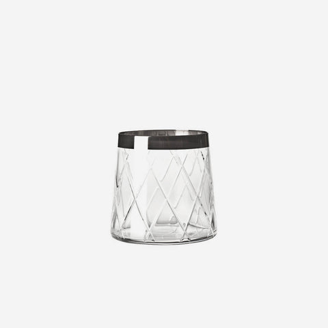 Atlantis Crystal Biarritz Old Fashioned Tumbler -BONADEA