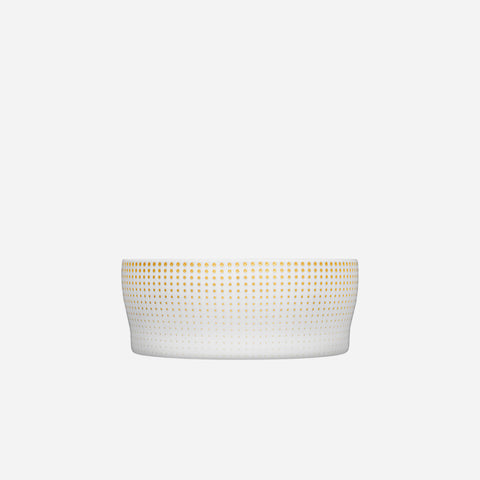 Clair de Lune Salad Bowl White