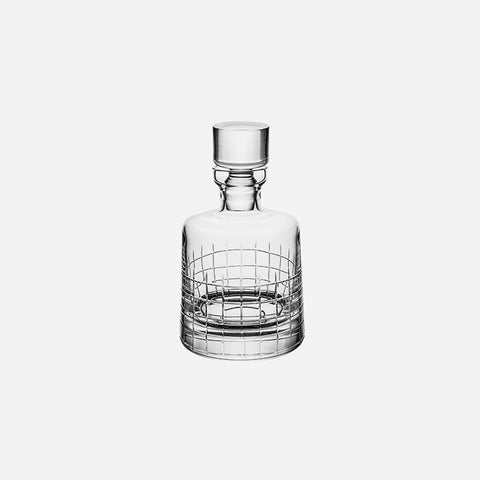 Christofle Graphik Crystal Whisky Decanter - BONADEA