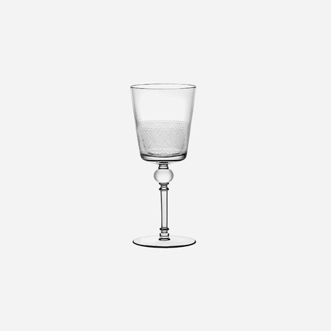 Christofle Jardin d'Eden Red Wine Glass - BOANDEA