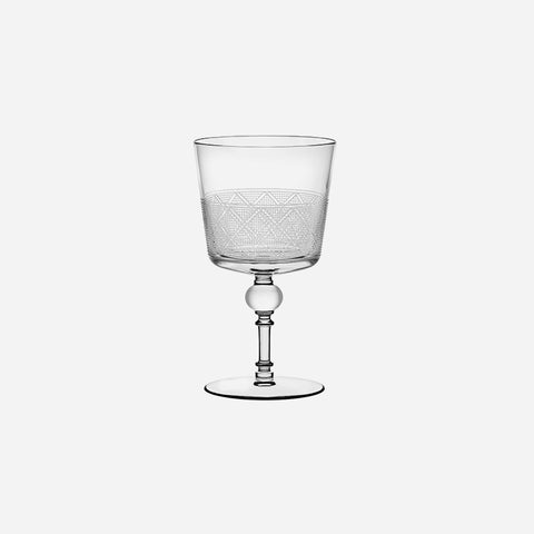 Christofle Jardin D'Eden Stemmed Water Glass - BONADEA