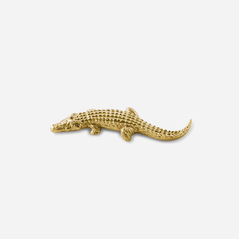 Nile & Co Gold Crocodile Knife Rest