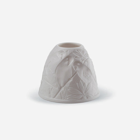 Lladró Porcelain Parrot Votive Light - BONADEA