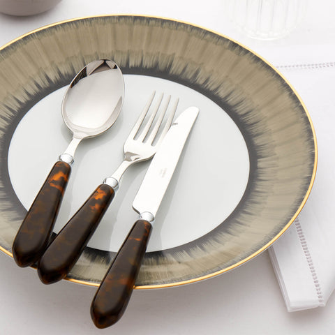 CAPDECO Omega 4-Piece Cutlery Set in Tortoiseshell
