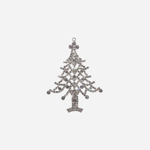 Crystal Christmas Tree Ornament - BONADEA