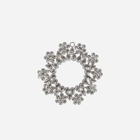 Diamond Wreath Christmas Ornament - BONADEA