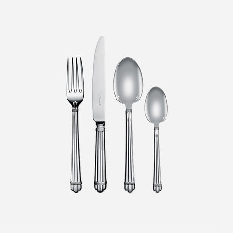 Christofle Aria Silver Plated Cutlery Set -BONADEA