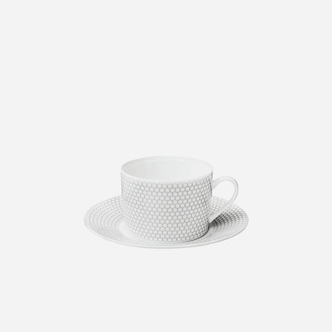 Christofle Madison 6 Cup & Saucer - BONADEA