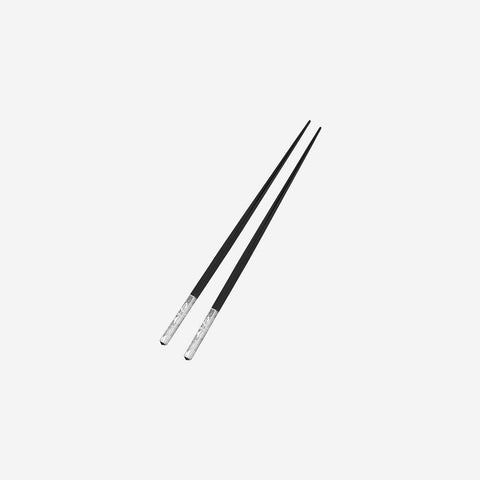 Marcel Wanders for Christofle Jardin D'Eden Silver Plated Chopsticks - BONADEA