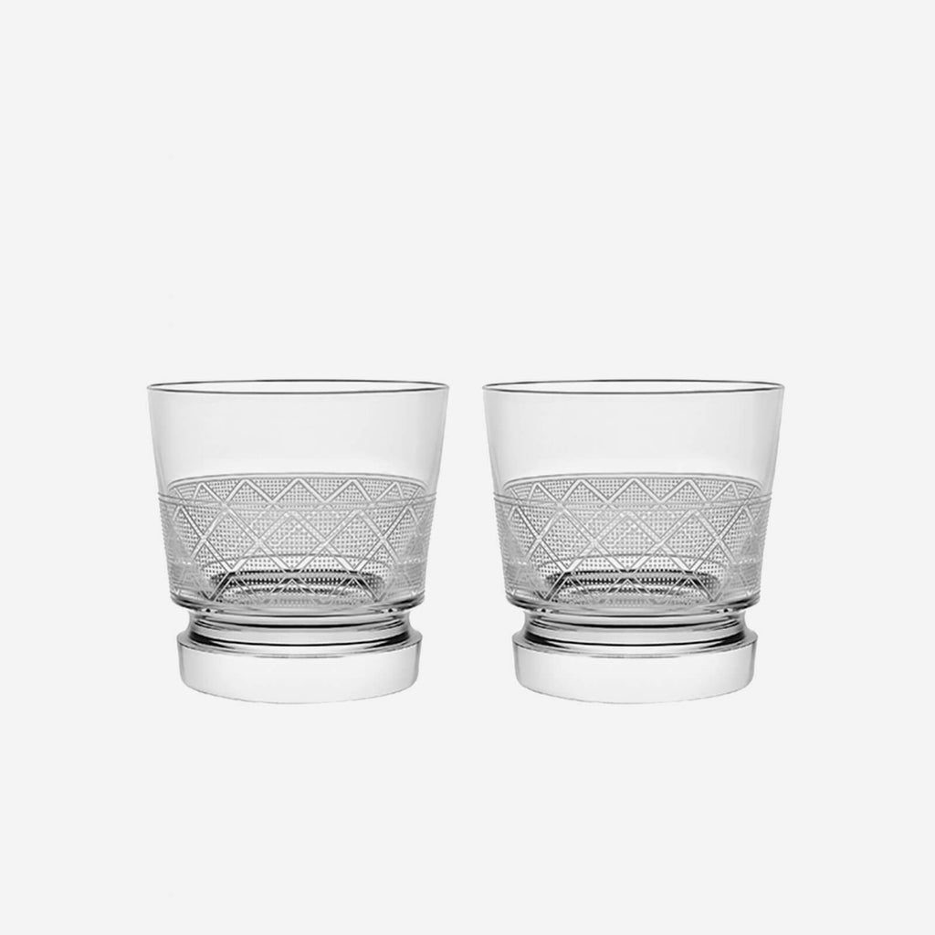 Marcel wanders for christofle jardin d 39 eden pair of tumblers for Jardin d eden