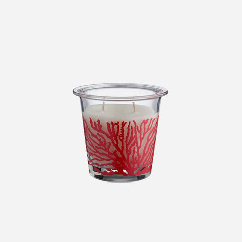Egizia Aquaria Red Coral Large Scented Candle -BONADEA