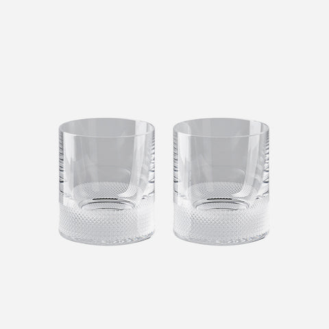 Rosenthal Vizner Pair of Whiskey Tumblers -BONADEA