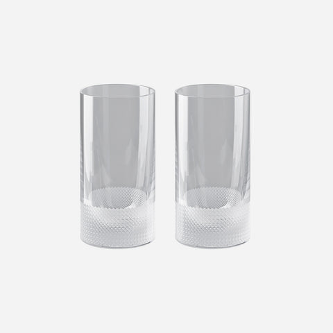 Rosenthal Vizner Pair of Highball Tumblers -BONADEA