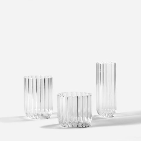 Fferrone Design Dearborn Set of Two Water Glasses - BONADEA
