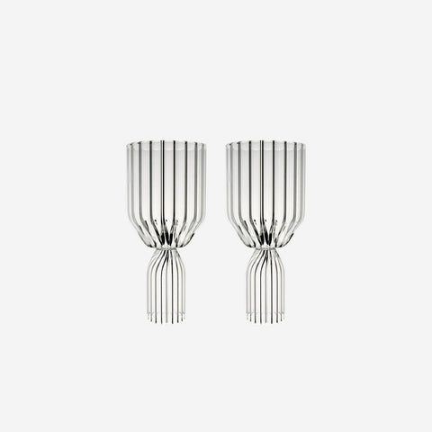 Fferrone Margot Set of Two White Wine Goblets - BONADEA