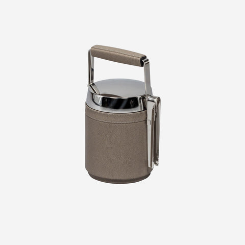 Pigment France - Saint Tropez Leather Ice Bucket and Tongs