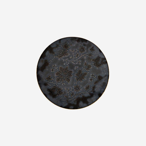Jaune de Chrome - Moonshadow Black Bread & Butter Plate