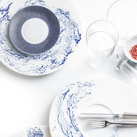 Jaune de Chrome - Blue Impression Bread & Butter Plate