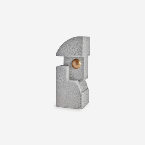 L'Objet | Cubisme Bookend One - Grey