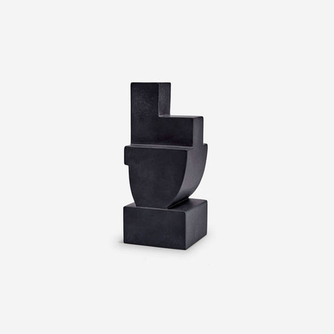 L'Objet | Cubisme Bookend Two - Black
