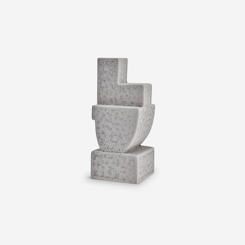 L'Objet | Cubisme Bookend Two - Grey