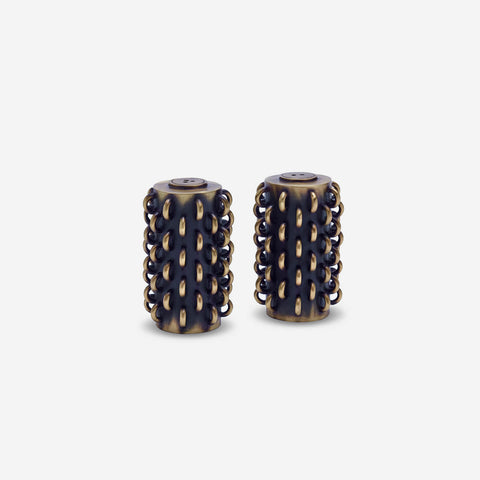 L'Objet Spice Jewels - Tulum Rings Salt & Pepper Set