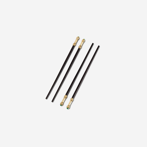 L'Objet Han Gold Chopsticks Set of 2 Pairs -BONADEA