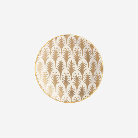 L'Objet | Fortuny Piumette Set of 4 Canape Plates