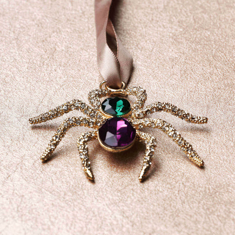 L'Objet Jeweled Spider Luxury Christmas Tree Ornament - BONADEA