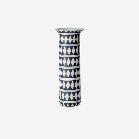 L'Objet Tribal Diamond Large Vase -BONADEA