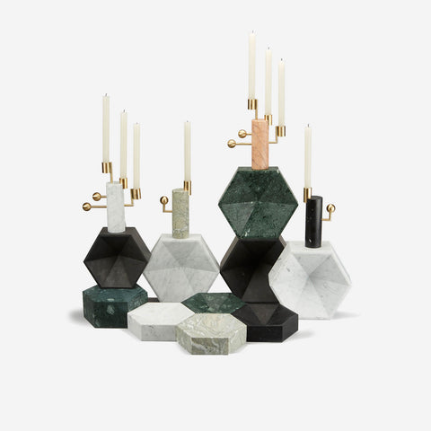 Lara Bohinc for LAPICIDA Stargazer Candle Holder -BONADEA