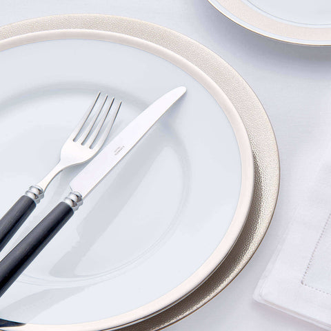 Legle Limoges | Alliance Platinum Dinner Plate