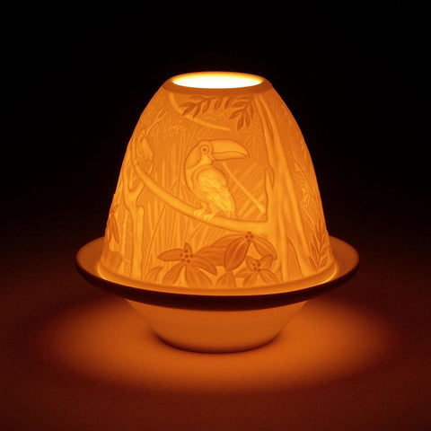Lladró Porcelain Touchas Votive Light - BONADEA