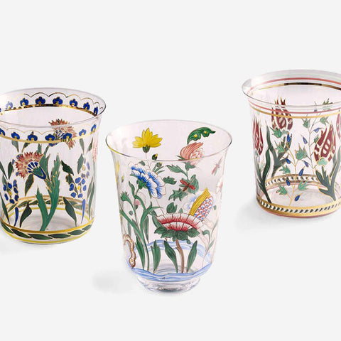 Handpainted Persian Flower No. 1 Tumbler