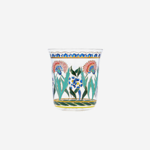 Lobmeyr - Hand-painted Persian Flower No. 3 Tumbler